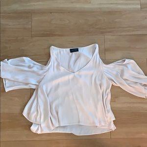 Light pink ASTR blouse